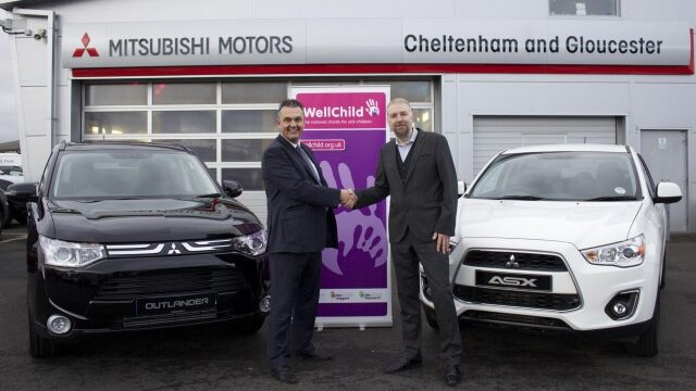 Mitsubishi boost for children's charity