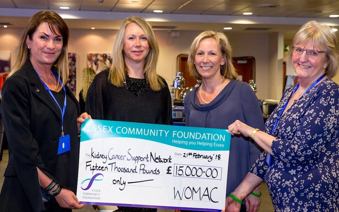 Womac smashes fundraising target again