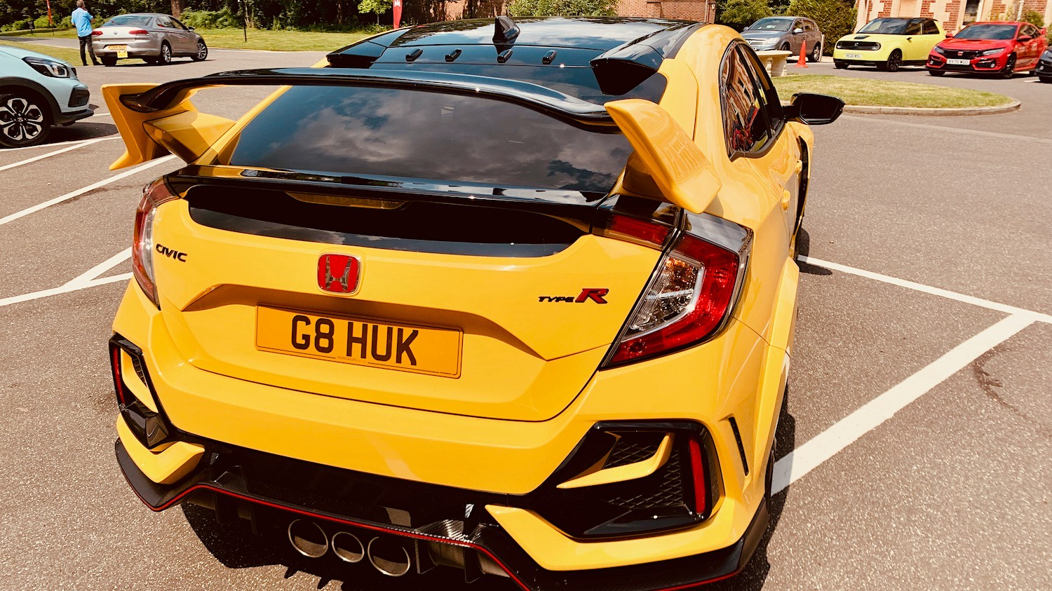 The Honda Type R - one of the last cars to be built in Swindon